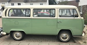 1971 VW T2 Early Bay Window Camper Tin Top RHD