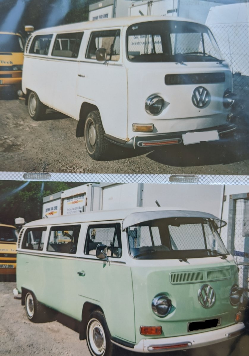 1971 VW T2 Early Bay Window Tin Top RHD For Sale (picture 6 of 6)