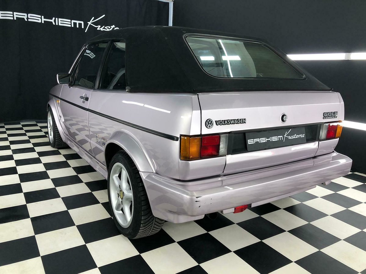 1993 VW Golf Cabriolet  For Sale (picture 3 of 6)