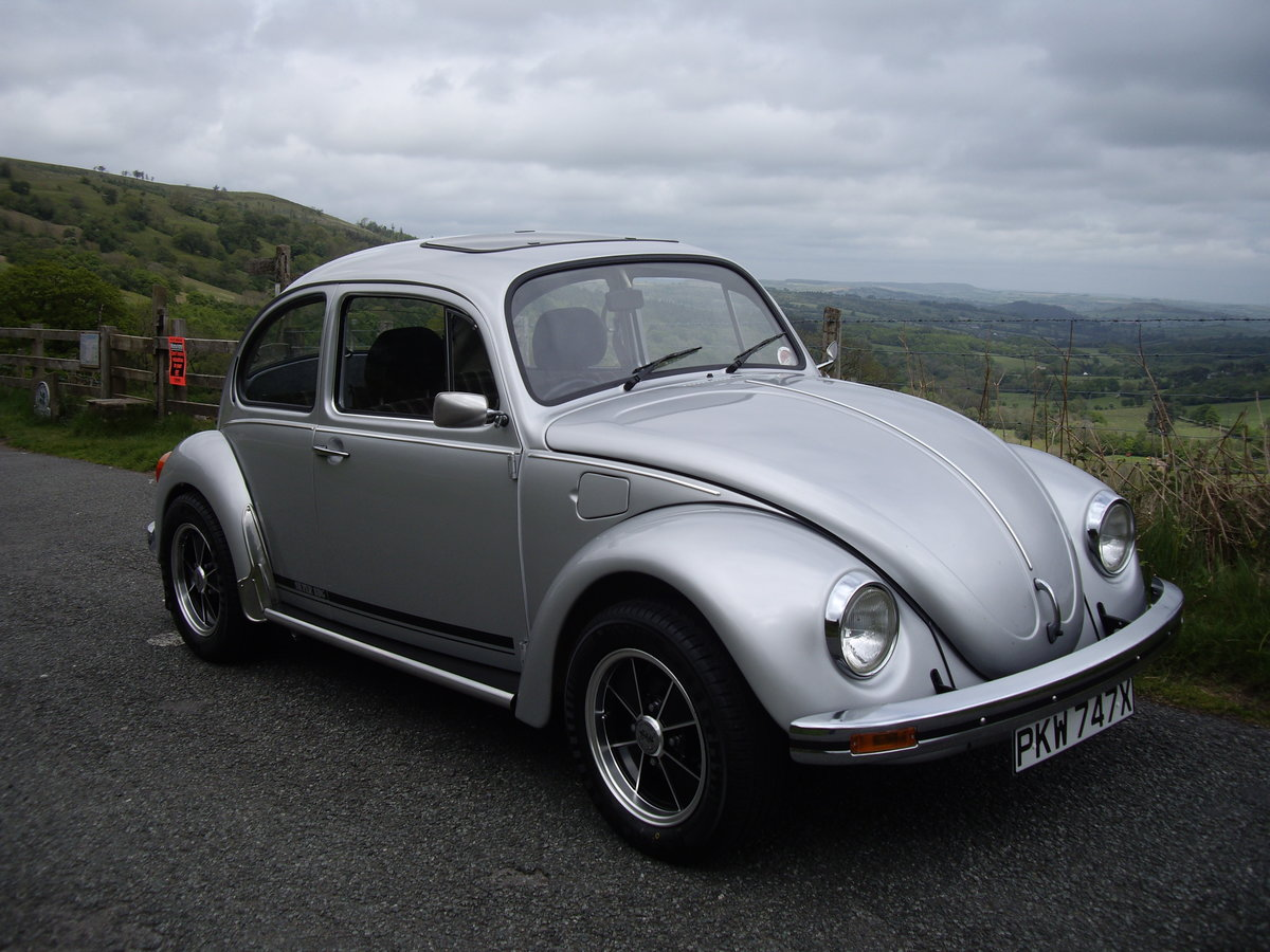 1982 Limited Edition Silverbug Beetle  For Sale (picture 1 of 6)