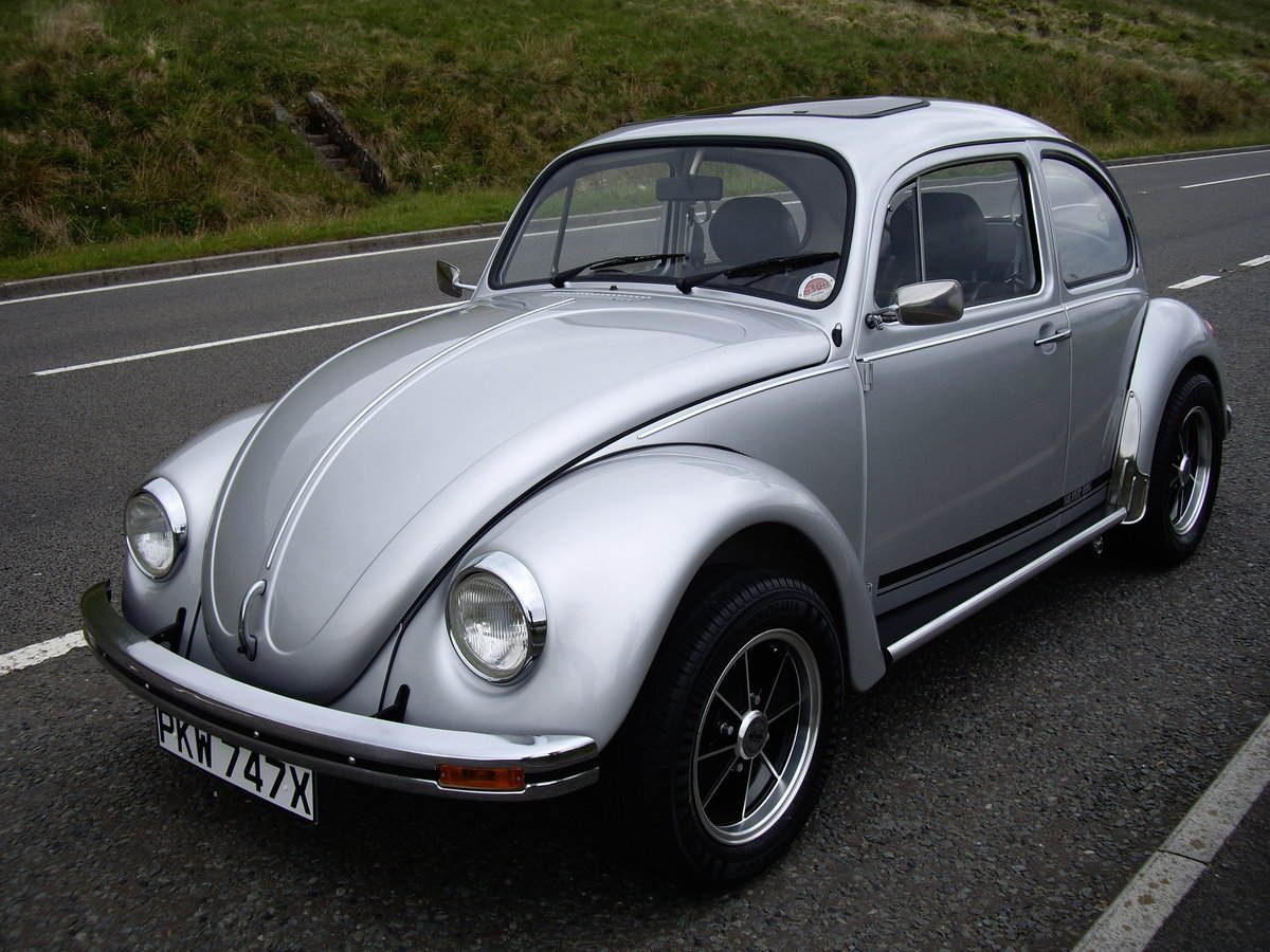 1982 Limited Edition Silverbug Beetle  For Sale (picture 2 of 6)