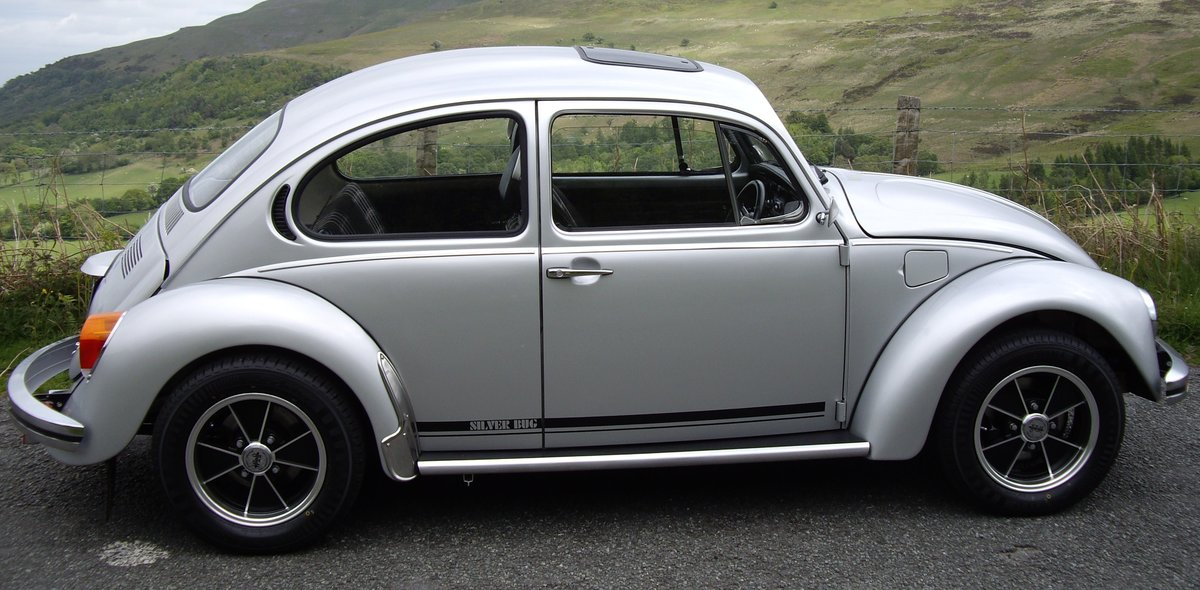 1982 Limited Edition Silverbug Beetle  For Sale (picture 3 of 6)