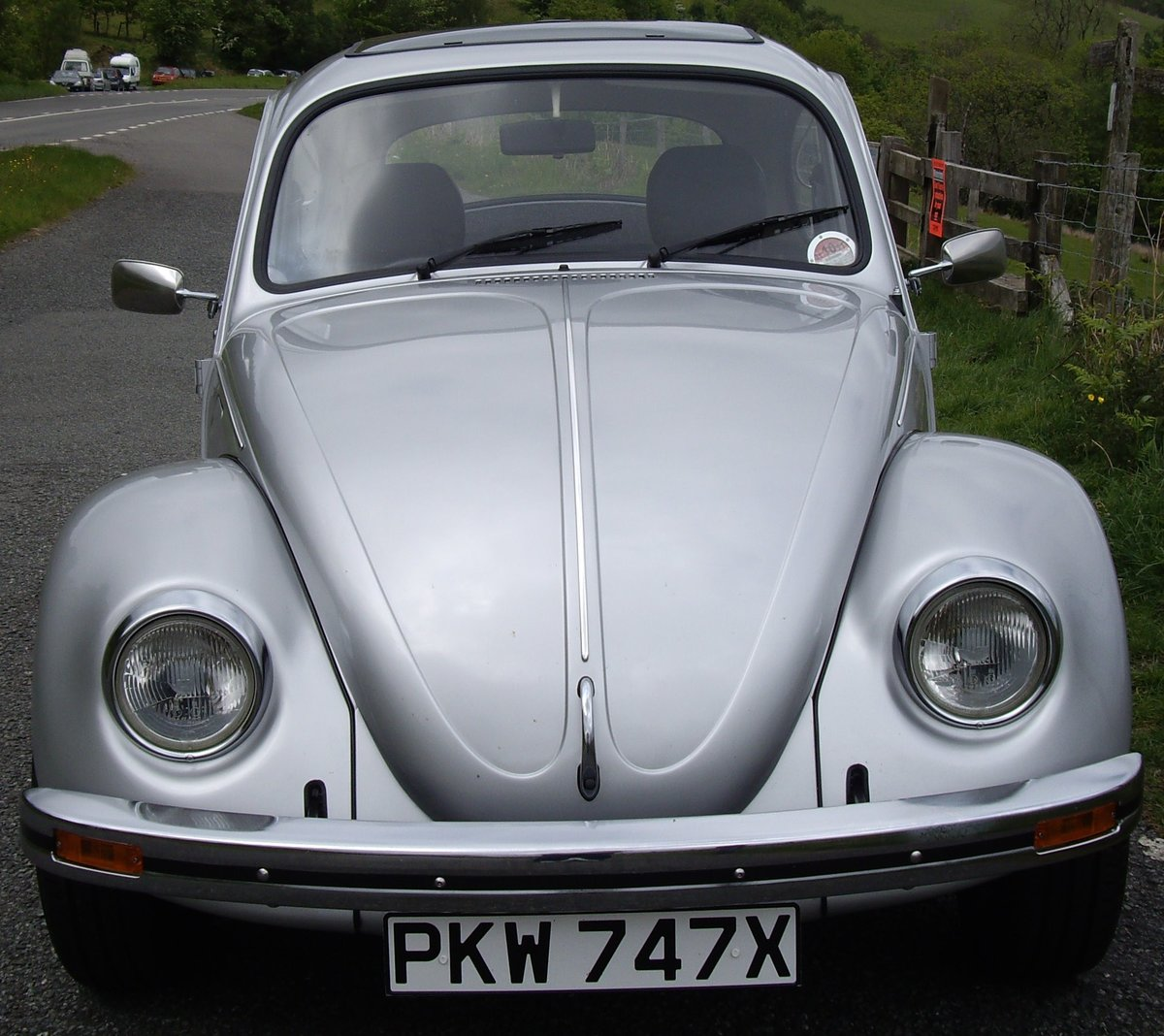 1982 Limited Edition Silverbug Beetle  For Sale (picture 4 of 6)