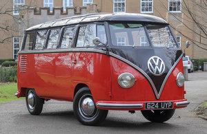 1955 Volkswagen Microbus DeLuxe Samba