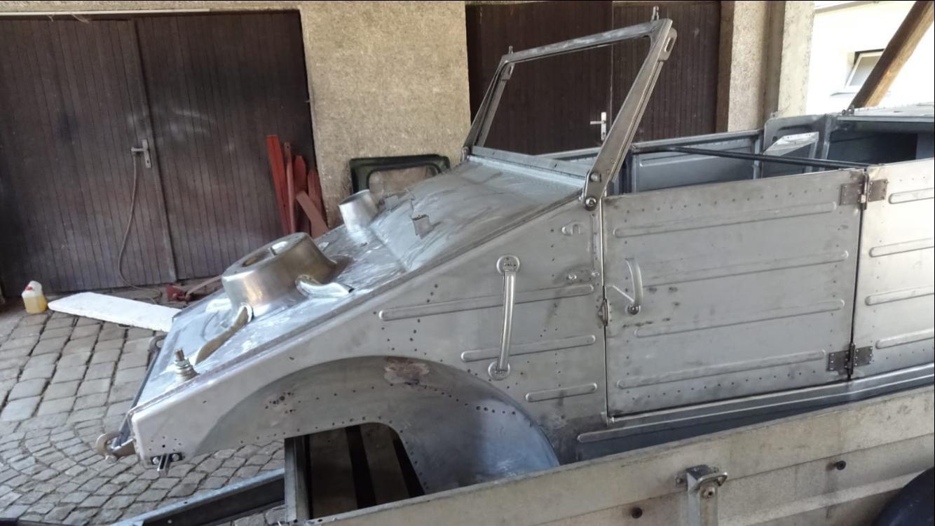 1943  Kübelwagen KDF Volkswagen  restored, original For Sale (picture 4 of 6)