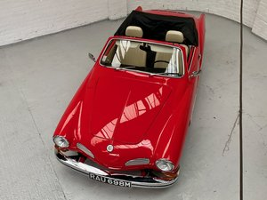 1974 Karmann Ghia Convertible Virtually Immaculate