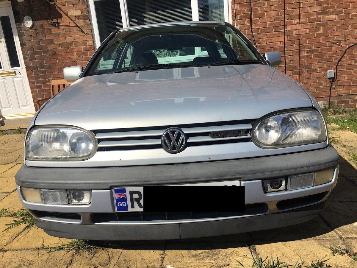 1997 Volkswagen Golf Gti mk3 2l 8v 3 door For Sale (picture 1 of 5)
