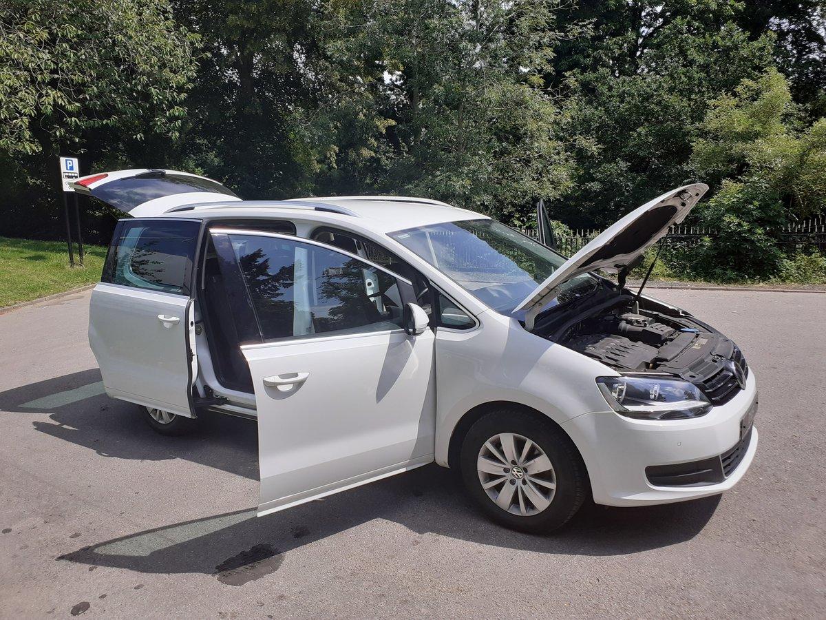 2016/16 VW Sharan SE Bluemotion Tech TDI DSG 1 Owner FSH  For Sale (picture 5 of 6)