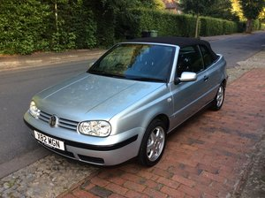 2000 Stunning VW Golf Cabriolet with ONLY 36,000 MILES
