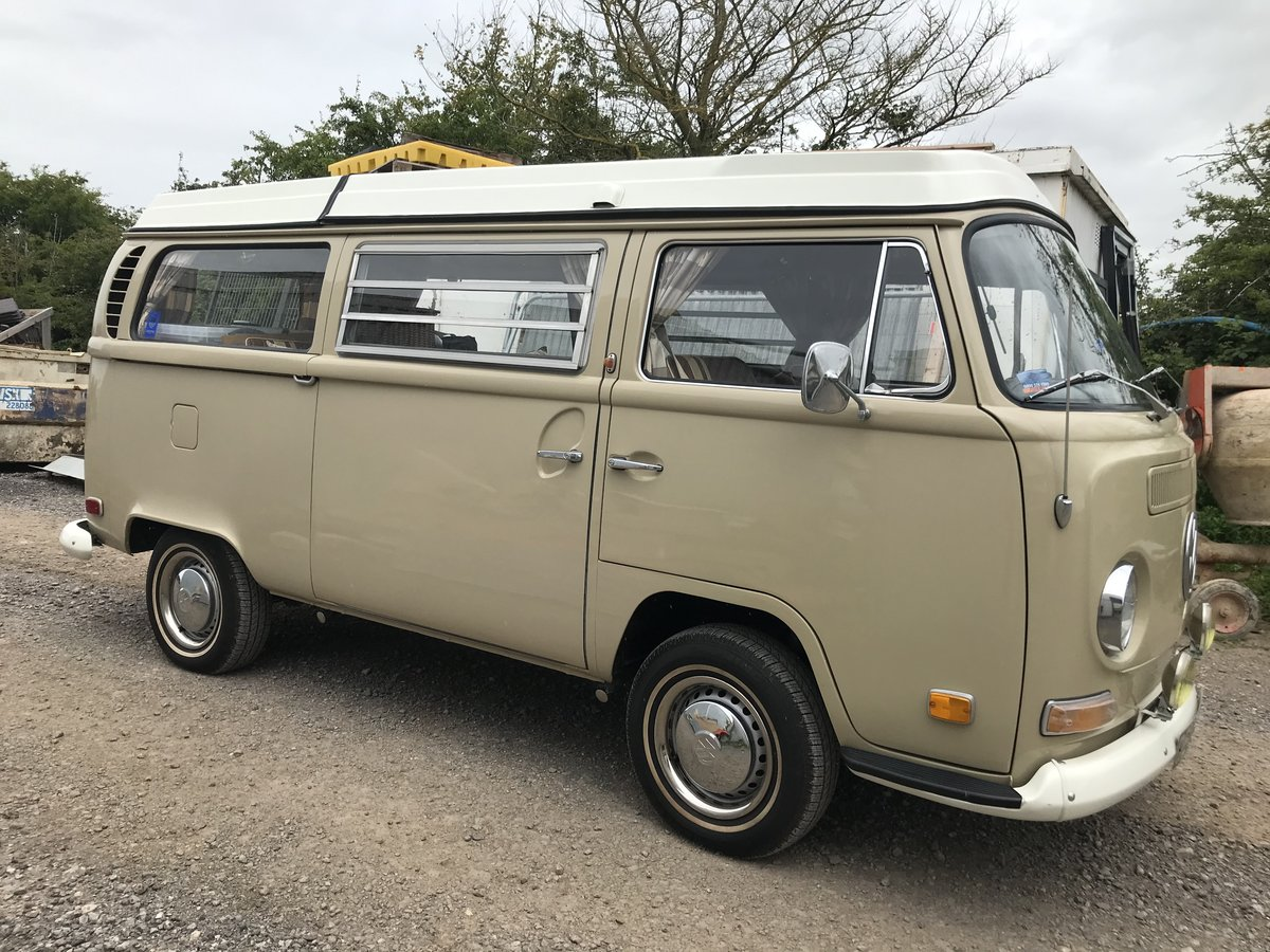 1971 Volkswagen T2 Early Bay Window Westfalia Campervan For Sale (picture 1 of 6)
