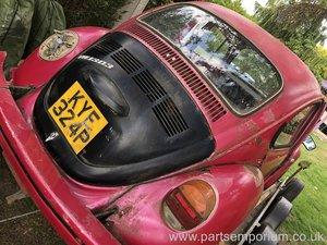 VW Beetle Project - 1303 RHD with Steering Rack