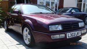 VW Corrado VR6 Blackberry Metallic & Beige Leather