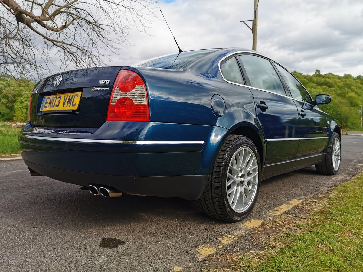 2003 Passat W8 4Motion Facelift - Dragon Green, FVWSH For Sale (picture 1 of 6)
