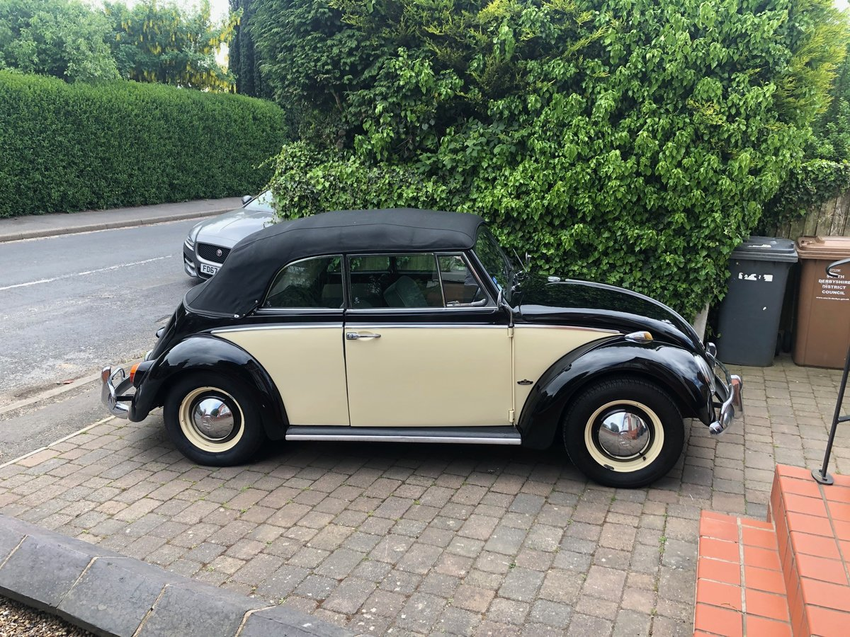 1966 Beetle Convertible RHD – Rare car For Sale (picture 6 of 6)