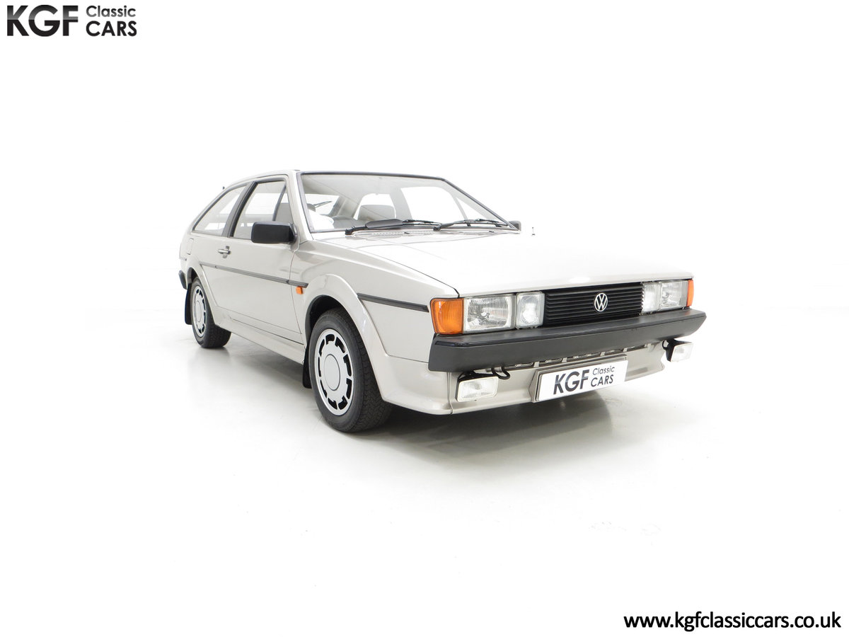 1986 A Rare Limited-Edition Volkswagen Scirocco GTS SOLD (picture 1 of 24)