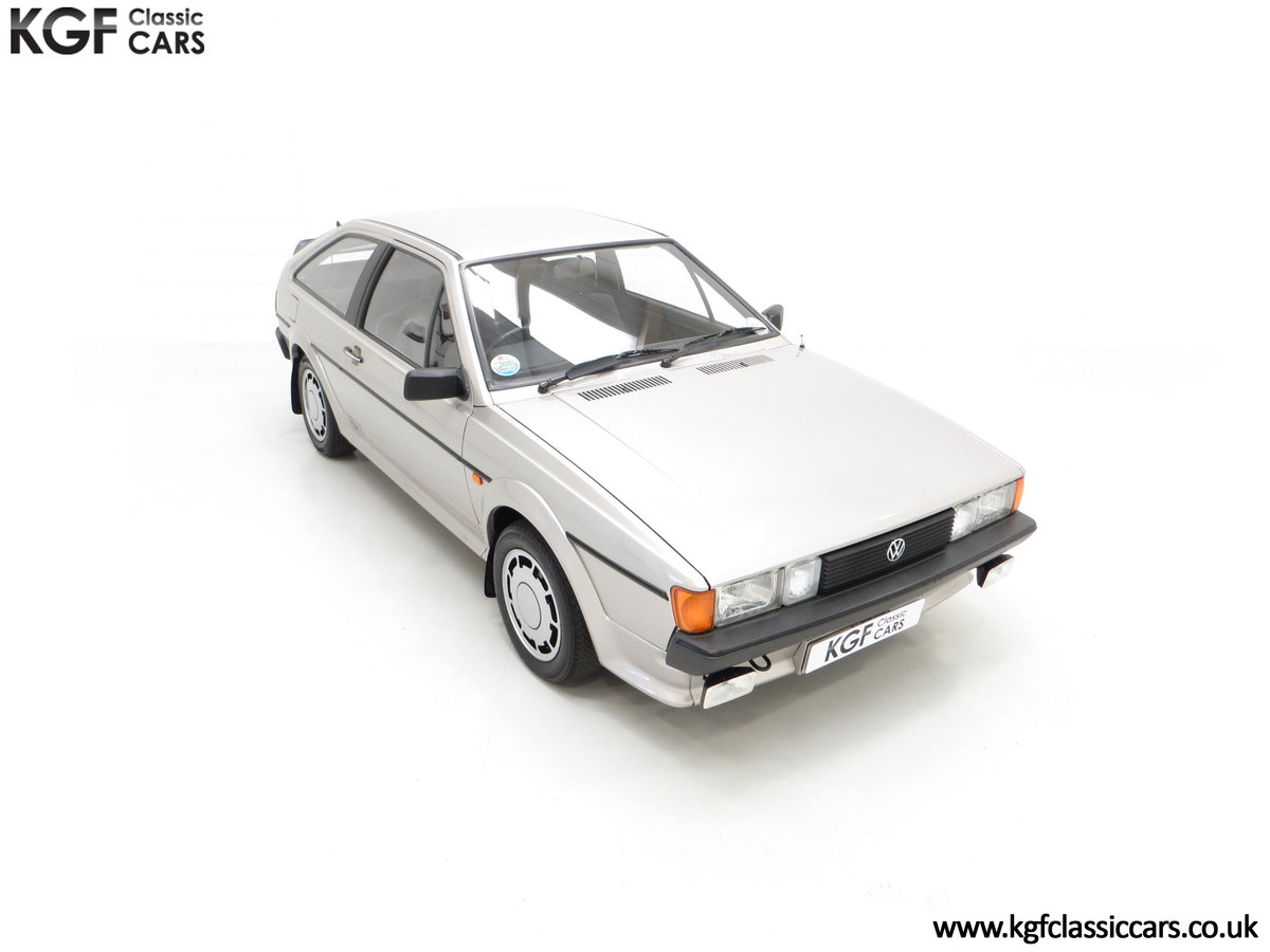 1986 A Rare Limited-Edition Volkswagen Scirocco GTS SOLD (picture 2 of 24)