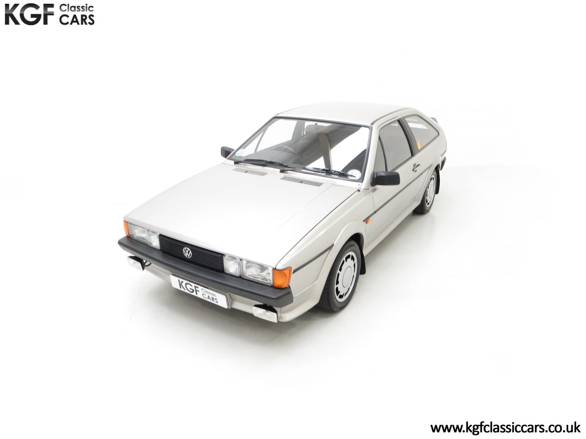 1986 A Rare Limited-Edition Volkswagen Scirocco GTS SOLD (picture 5 of 24)