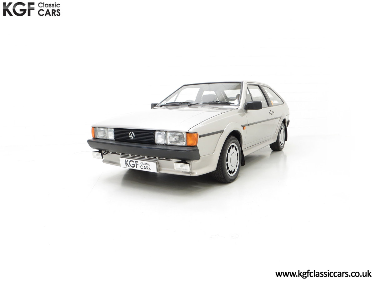 1986 A Rare Limited-Edition Volkswagen Scirocco GTS SOLD (picture 6 of 24)