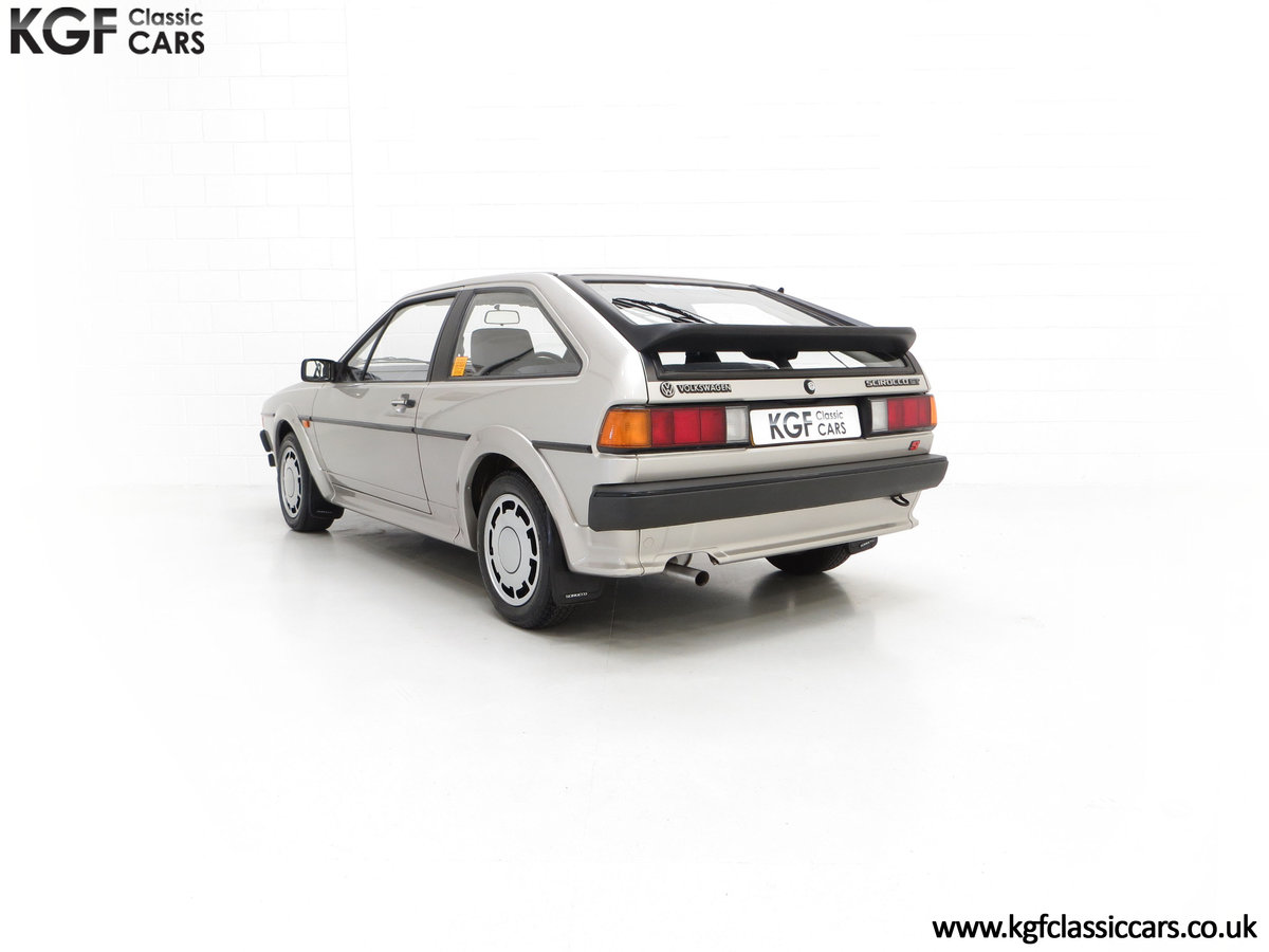 1986 A Rare Limited-Edition Volkswagen Scirocco GTS SOLD (picture 8 of 24)