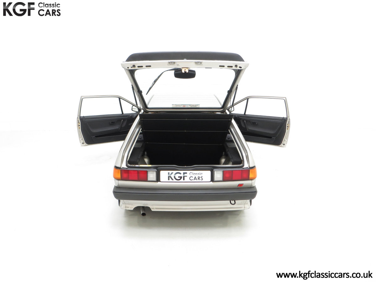 1986 A Rare Limited-Edition Volkswagen Scirocco GTS SOLD (picture 11 of 24)