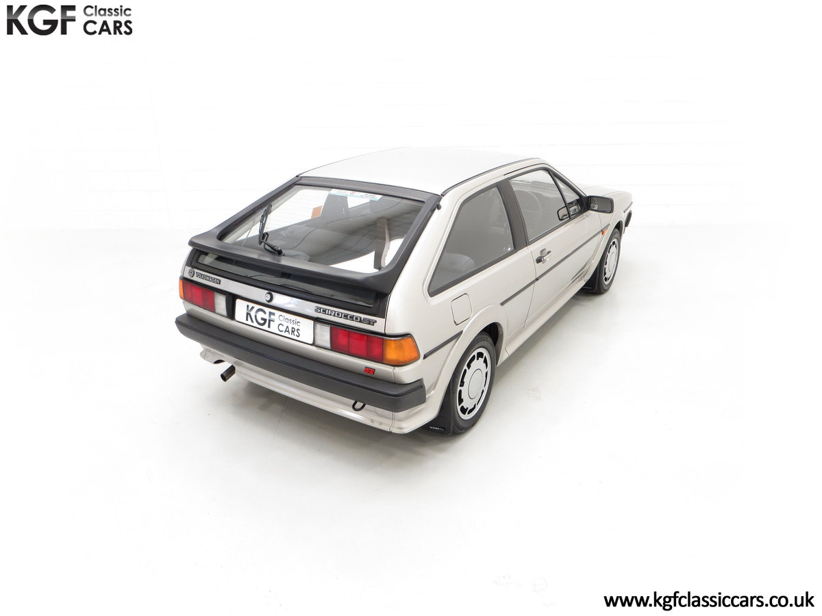 1986 A Rare Limited-Edition Volkswagen Scirocco GTS SOLD (picture 12 of 24)