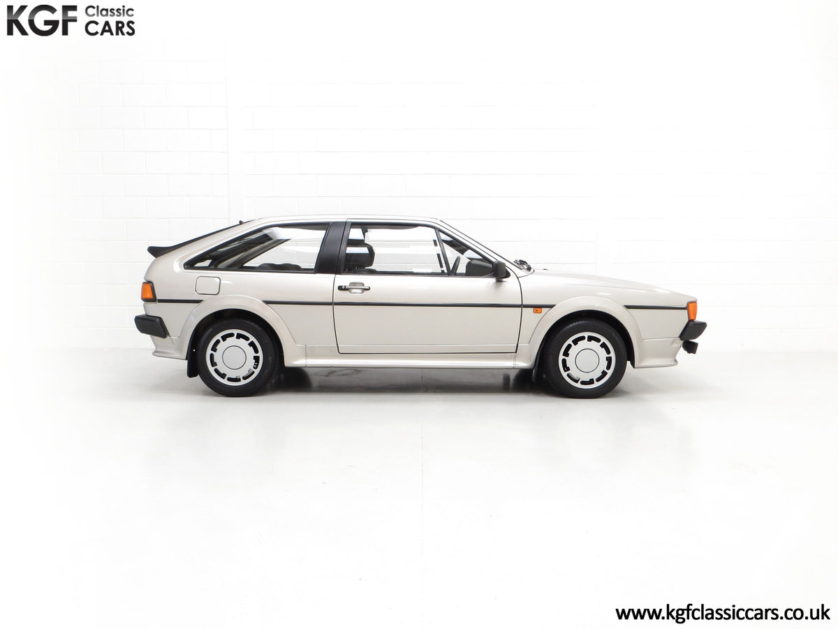 1986 A Rare Limited-Edition Volkswagen Scirocco GTS SOLD (picture 14 of 24)