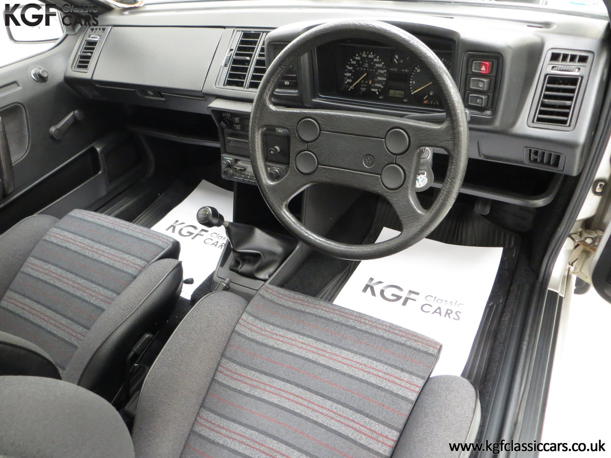 1986 A Rare Limited-Edition Volkswagen Scirocco GTS SOLD (picture 18 of 24)