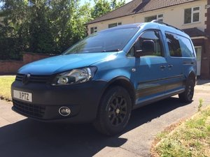 Excellent VW Caddy 4Motion 4x4 Overland Camper Van