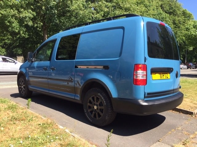 2011 Excellent VW Caddy 4Motion 4x4 Overland Camper Van For Sale (picture 4 of 6)