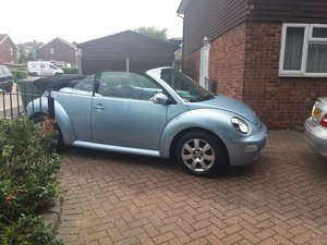 Volkswagen beetle convertible  - NOW SOLD