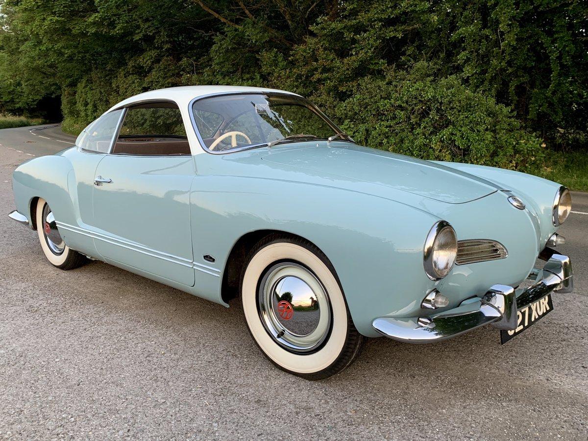 1960 Karmann Ghia - RHD - Sale Pending SOLD (picture 1 of 5)
