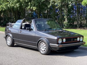 1985 Mk1 Golf Cabriolet gti Black Edition