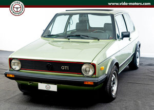 Golf Gti Mk1 *Original Rooftop* Rare Color* Asi Certified