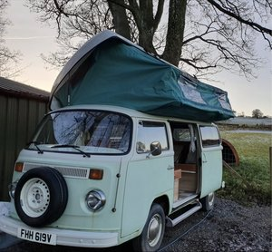 1980 VW T2 Bay Superviking Campervan