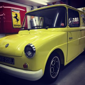 1971 *Rare* VW 147 Fridolin