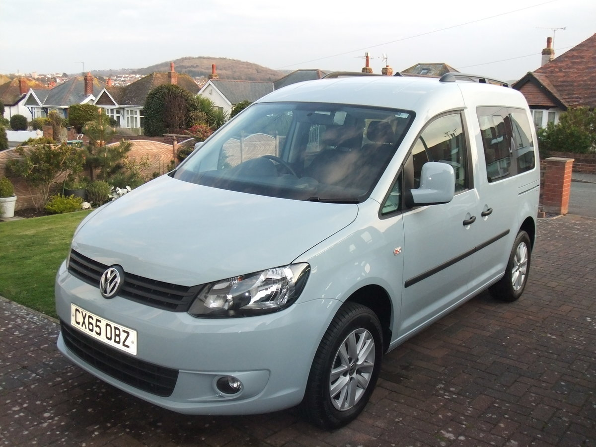 2015 Volkswagen Caddy Life 1.6TDi manual, SOLD SOLD (picture 1 of 6)
