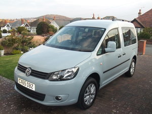 Volkswagen Caddy Life 1.6TDi manual, 19,300 miles