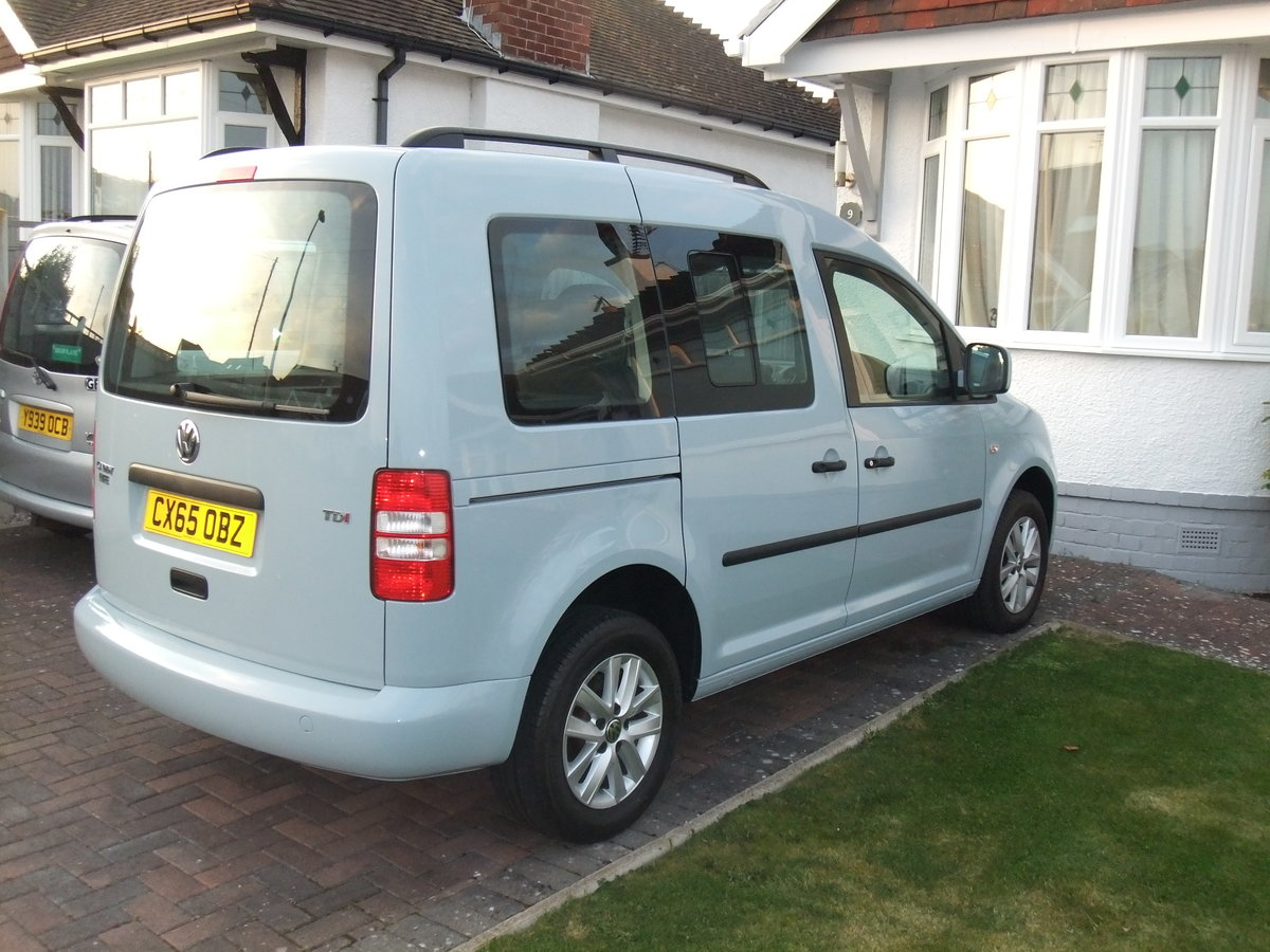 2015 Volkswagen Caddy Life 1.6TDi manual, SOLD SOLD (picture 2 of 6)