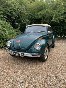 VW Beetle Karmann Cabriolet Matching numbers