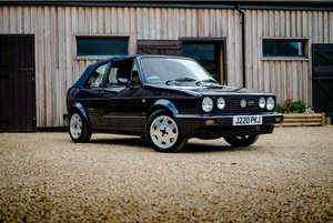 VW Mk1 Golf GTI Cabriolet Rivage