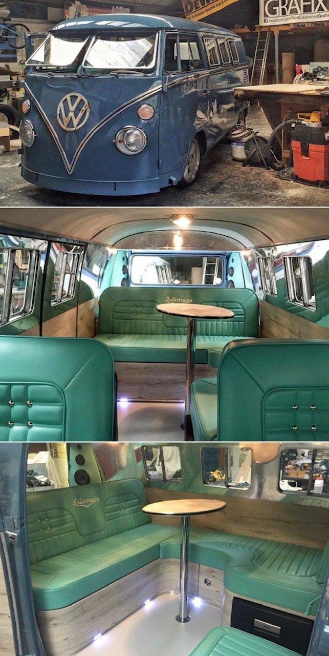 1964 FullyRefurbishedVw Splitscreen Camper For Sale (picture 6 of 6)