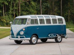 1966 Volkswagen Deluxe 21-Window Microbus
