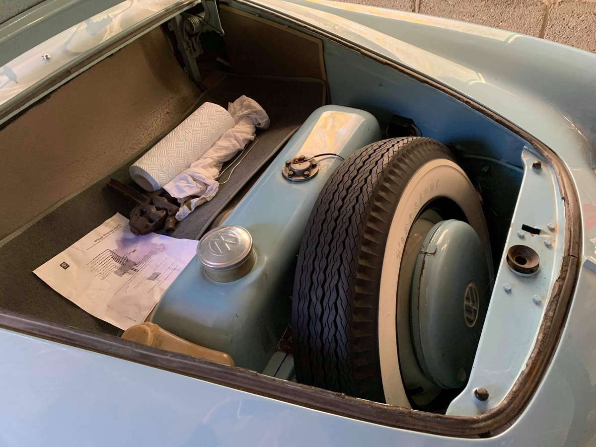 1960 Karmann Ghia - RHD - Sale Pending SOLD (picture 4 of 5)