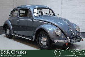 VW Beetle Oval 1955 restored