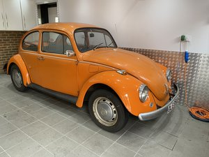 1972 Beetle 1200 owned for the last 25 Years