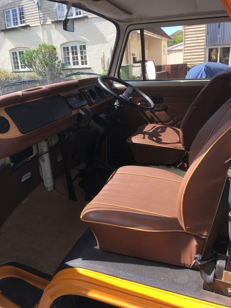 1978 VW T2 Camper 2 litre 'Marigold' For Sale (picture 2 of 6)
