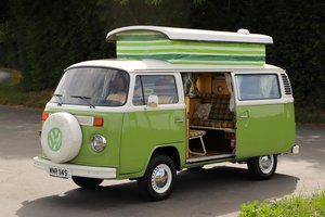 1978 VW Bay Window Camper Van – Recently Restored. Pop Top.