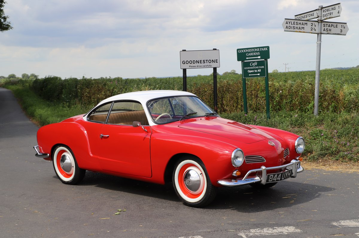 1962 Volkswagen Karmann Ghia (Type 14). Right Hand Drive For Sale (picture 1 of 6)