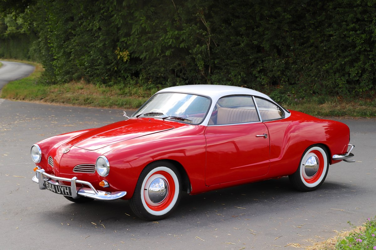 1962 Volkswagen Karmann Ghia (Type 14). Right Hand Drive For Sale (picture 2 of 6)
