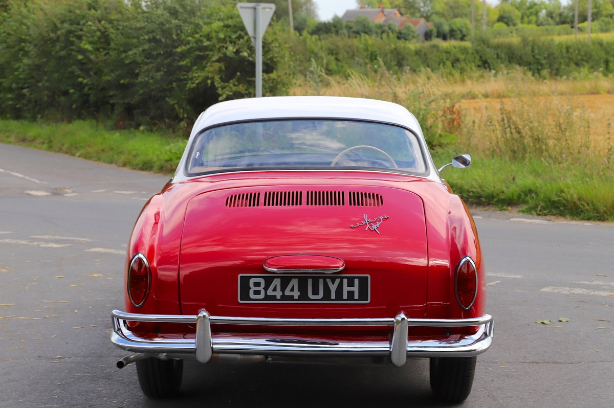 1962 Volkswagen Karmann Ghia (Type 14). Right Hand Drive For Sale (picture 3 of 6)
